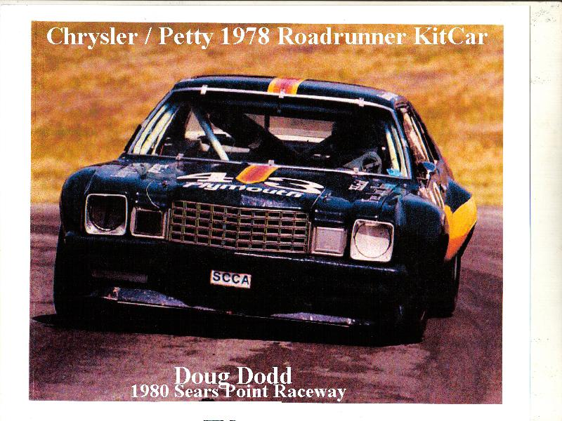 Chrysler Petty Kit Car IMSA